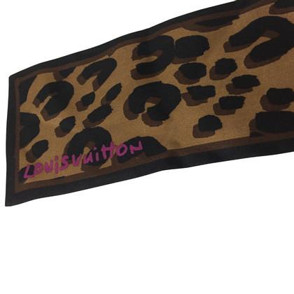 Louis Vuitton Piccolo foulard leopard