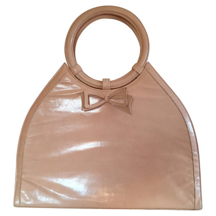 Rena Lange Handtasche in Lachsfarben