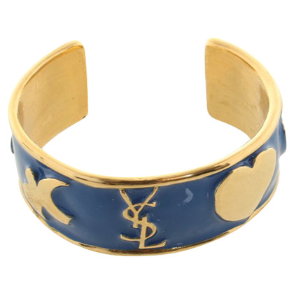 Yves Saint Laurent Armreif in Blau