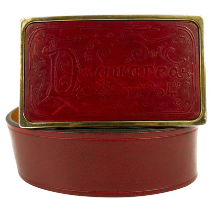 Dsquared2 Cinture in rosso