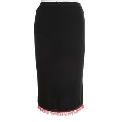 Marc Cain Brei rok in zwart / Red