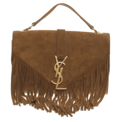 "Saint Laurent ""A71bfdbb Kate"" with fringes"