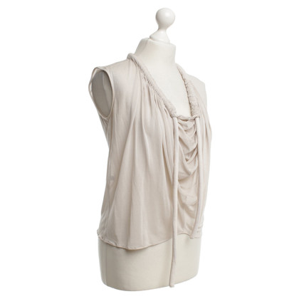 Maison Martin Margiela Top in Beige