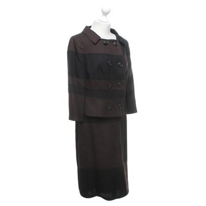 Escada Costume in zwart / Brown