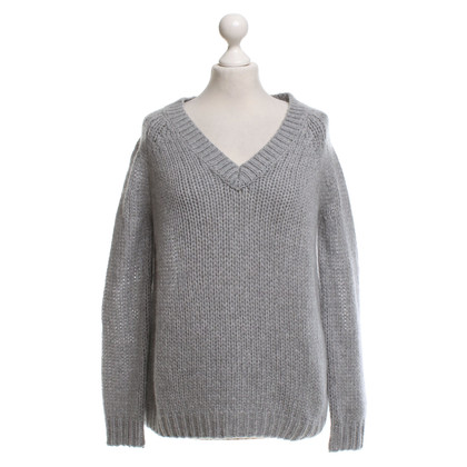 360 Sweater Kaschmir-Pullover in Grau