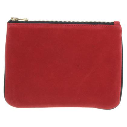 Balmain X H&M Pochette in rosso e nero