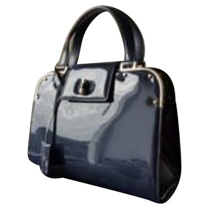 "Yves Saint Laurent ""Uptown Bag"" in pelle verniciata"
