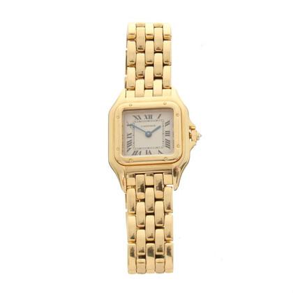 """Cartier Goldene Damen-Armbanduhr """"Panthere"""""""