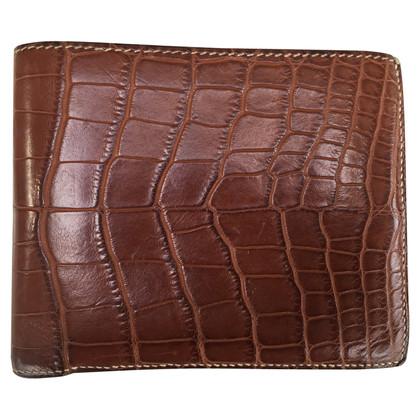 Hermès Alligator leather wallet