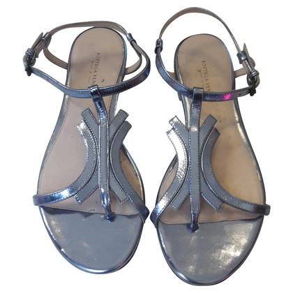 Bottega Veneta metal sandals