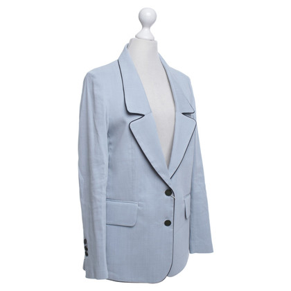 Golden Goose Light blue blazer with silk