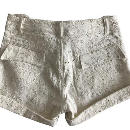 Isabel Marant Shorts de dentelle de trou