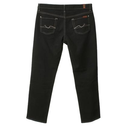 Seven 7 jeans Boyfriend noir