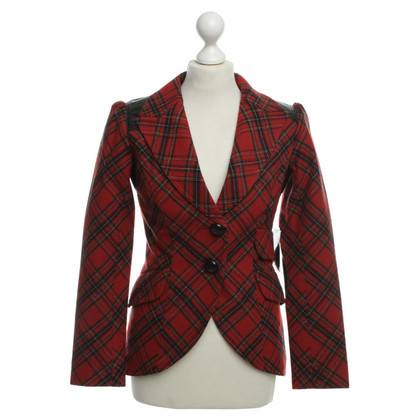 Smythe Blazer with check pattern