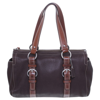 Coach Tote in marrone scuro