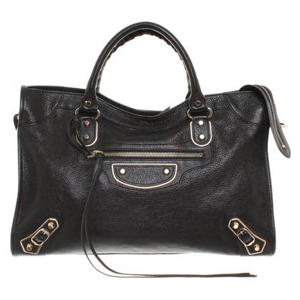 """Balenciaga """"Classic City Bag"""" in zwart"""