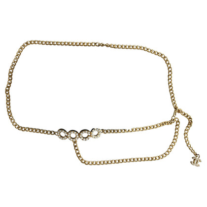 Chanel Chain belt with pendant