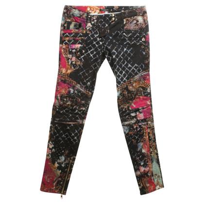 Balmain Jeans avec motif imprimé
