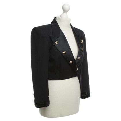 Escada Wol Blazer met sterren applicaties