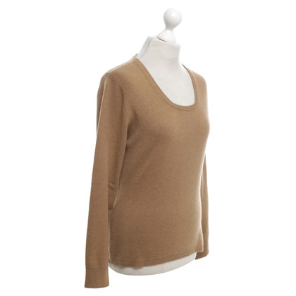Hemisphere Cashmere sweater in ocher