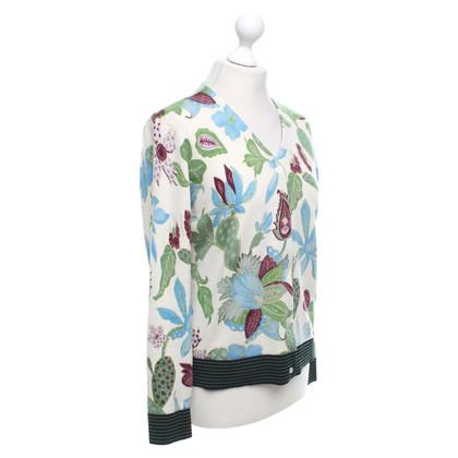 Tory Burch Cardigan mit floralem Print