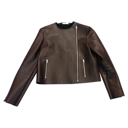 Céline leather jacket