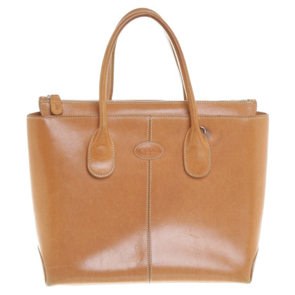 Tod's Handtasche in Cognac