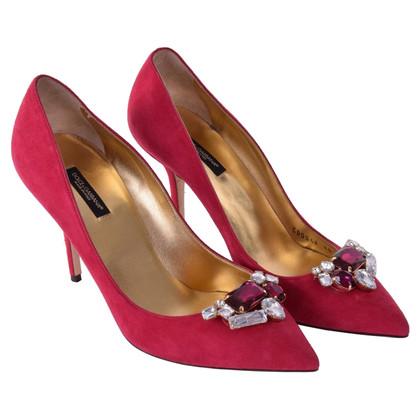 Dolce & Gabbana pumps Suede