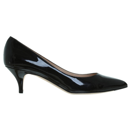 Bally Lacklederpumps in Schwarz