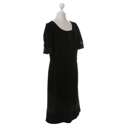 Diane von Furstenberg Short sleeve dress in black