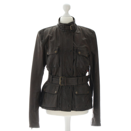Belstaff Leather jacket with belt