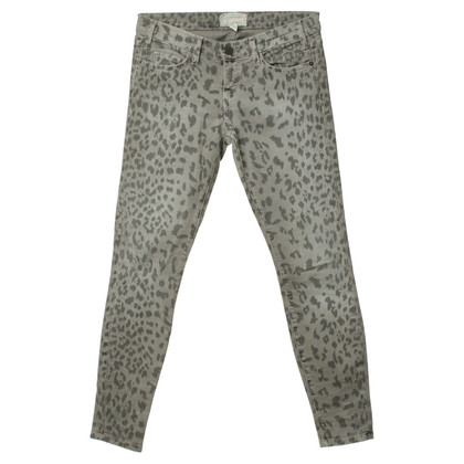 "Current Elliott Jeans ""De stiletto"" met Luipaard patroon"