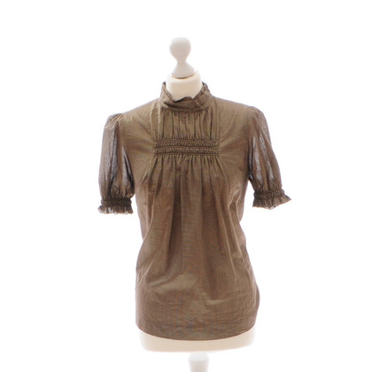 Viktor & Rolf Bronze-coloured blouse