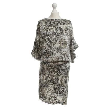 Givenchy zijden jurk afdrukken