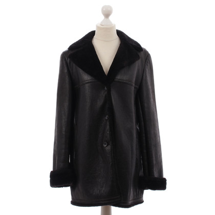 Jil Sander Fur jacket in Brown / S. SCHR. 141