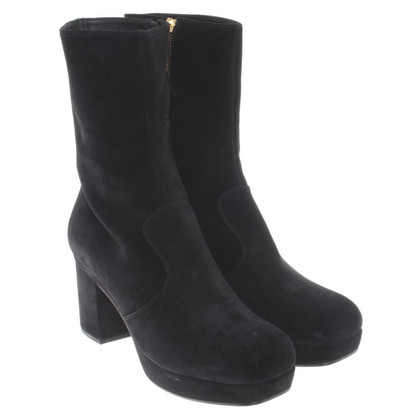 Miu Miu Platform boots with heel