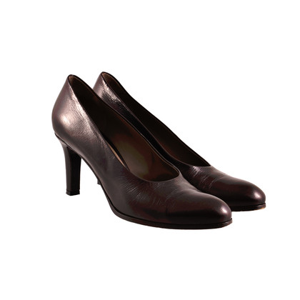Jil Sander Dark brown pumps
