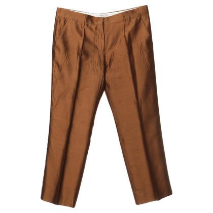 Prada Silk pants in Brown
