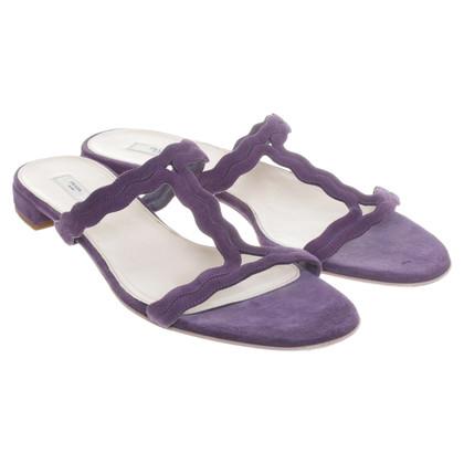Prada Sandalen in Violett