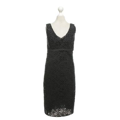 Prada Kanten jurk in donkerblauw