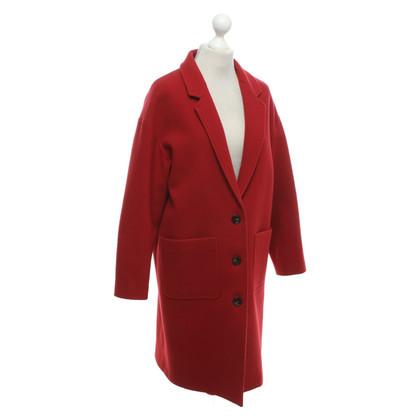 Closed Cappotto in rosso