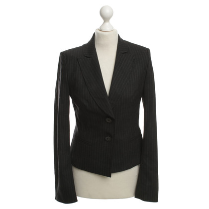 René Lezard Blazer in antracite