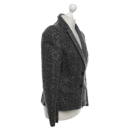 Luisa Cerano Wool blazer in grey