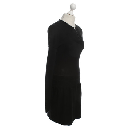 Balenciaga Knitted Dress in Black
