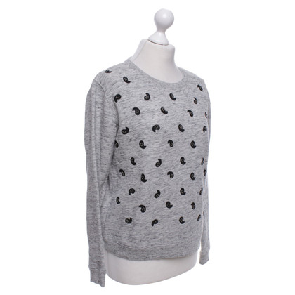 Maison Scotch Sweatshirt in Grey