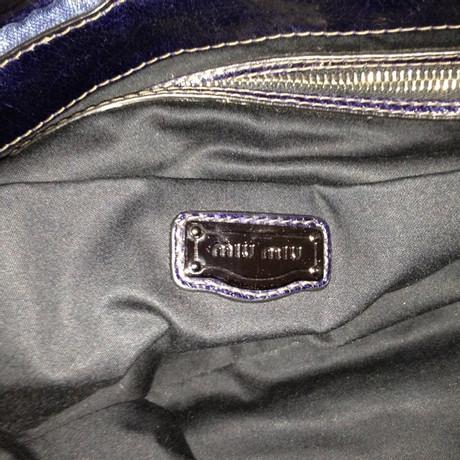 Miu Miu Denim Tasche Blau Günstig Kaufen Besten Großhandel Billige Angebote Billig Verkauf Neuesten Kollektionen Spielraum Manchester Großer Verkauf Günstig Kaufen Großen Rabatt 9PklAlgV