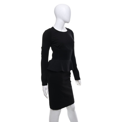 Altuzarra Black dress with peplum