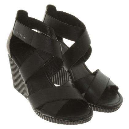 Calvin Klein Wedges in black