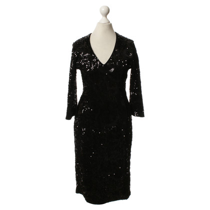 Guido Maria Kretschmer Sequin dress in black