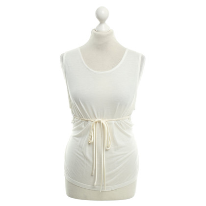 Ann Demeulemeester Top in crema